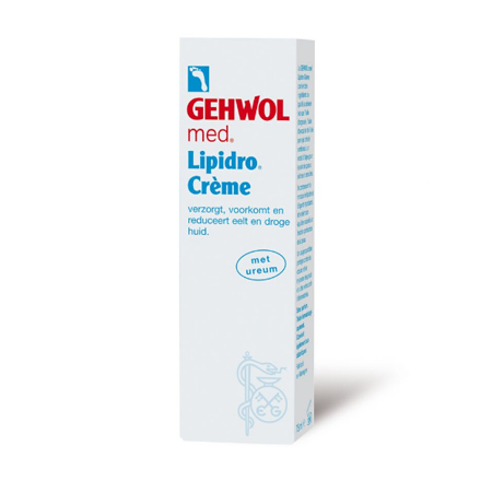 Gehwol lipidro creme per tube 75 ml