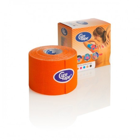 Cure Tape 500 x 5 cm Oranje