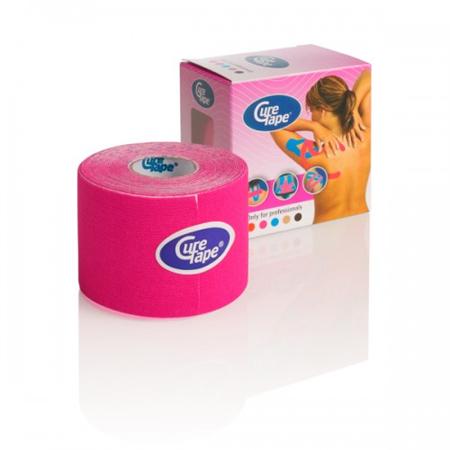 Cure Tape 500 x 5 cm Roze