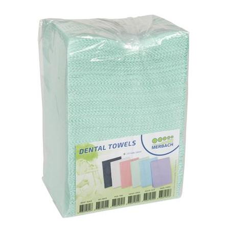 Dental Towels 500 stuks groen