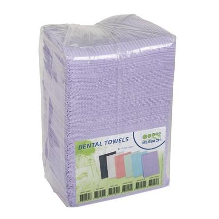 Dental Towels 500 stuks paars