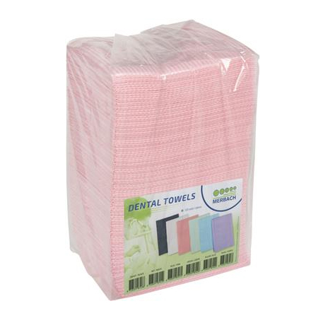 Dental Towels 500 stuks roze