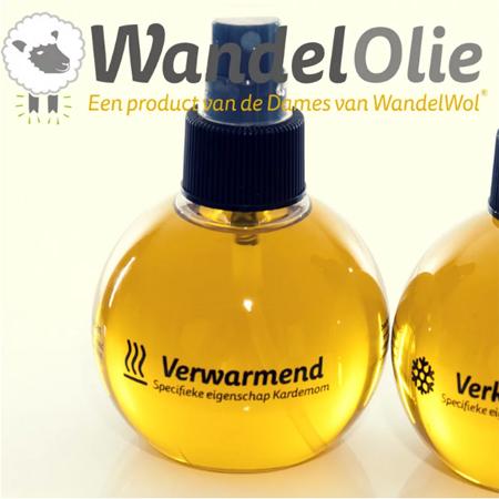 WandelWol olie (verwarmend) 150 ml