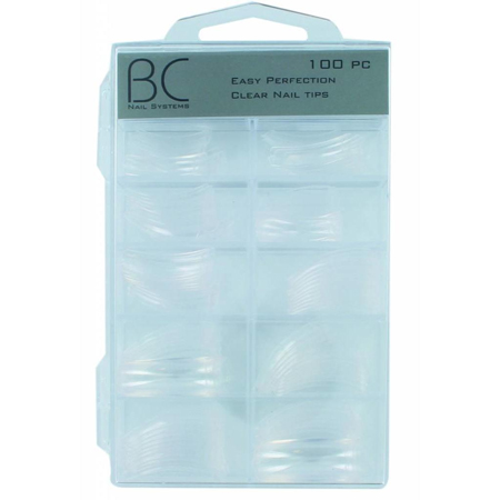 Bc nails Easy Perfection Clear Nail Tips 100 stuks