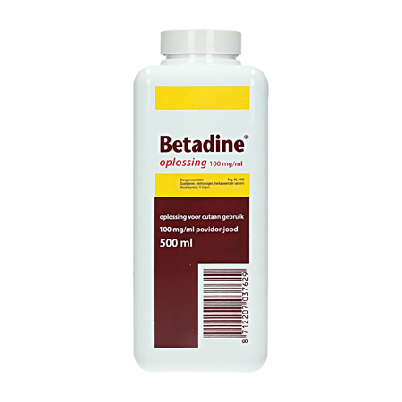 Betadinejodium 500 ml