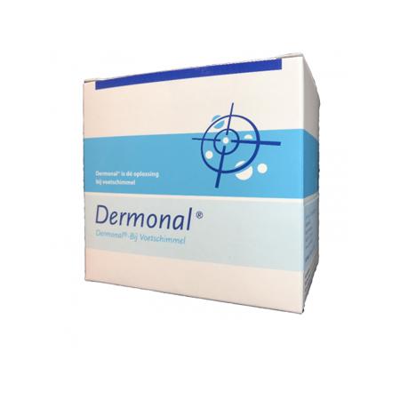 Dermonal voetbad 50 ml 6 stuks