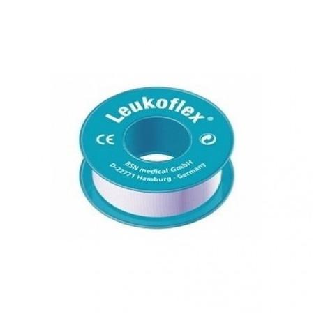Leukoflex 5 mtr x 1a cm per rol