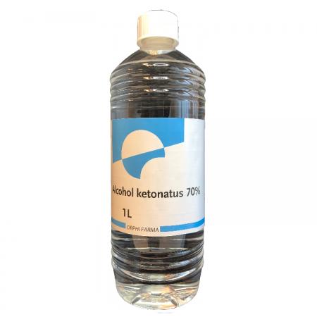 Alcohol ketonatus 70% 1000 ml
