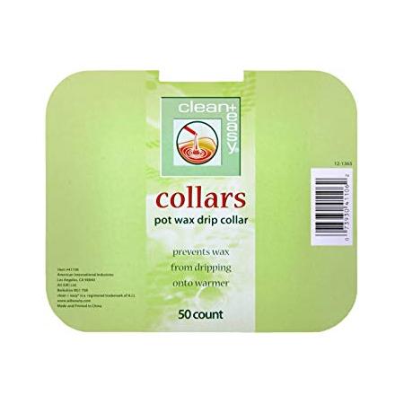 Clean & easy Collars potwax drip 50 stuks