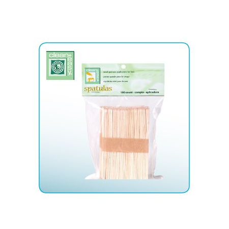Clean & easy Houten spatels medium 100 st