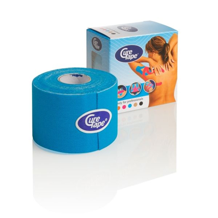 Cure Tape 500 x 5 cm Blauw