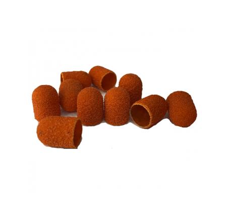 Slijpkappen 10 mm (oranje) rond (10 stuks)