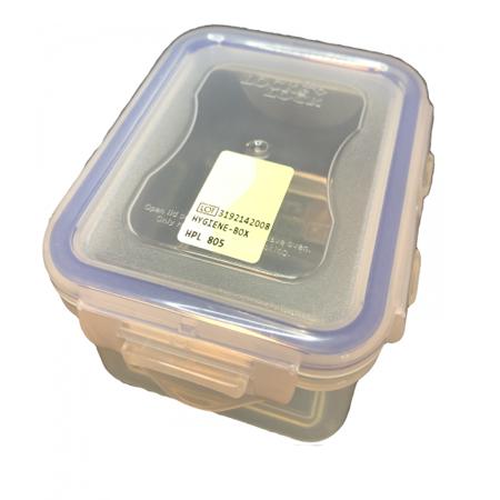Fraisendoos Sterisafe (180 ml, 4 klemmen)
