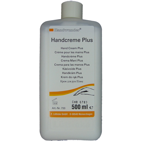 Laufwunder Handcreme plus (ureum) 500 ml