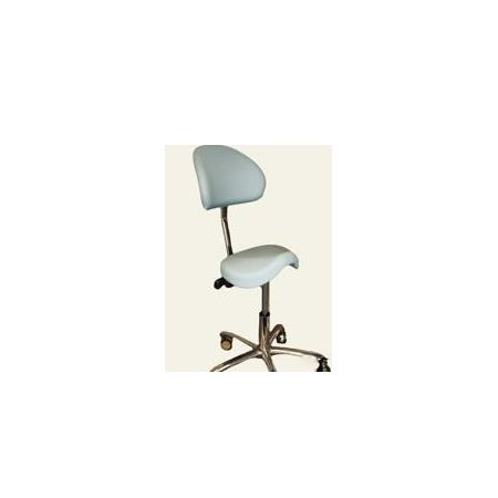 Martini Werkstoel Jockey met rug (Kiss)