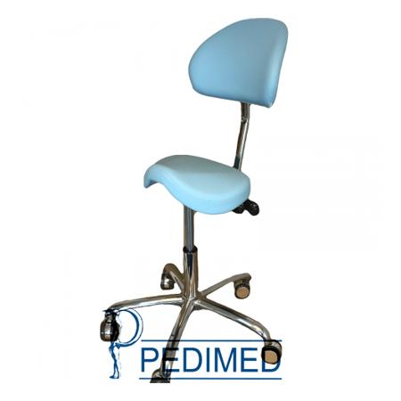 Martini Werkstoel Jockey met rug (Lende)