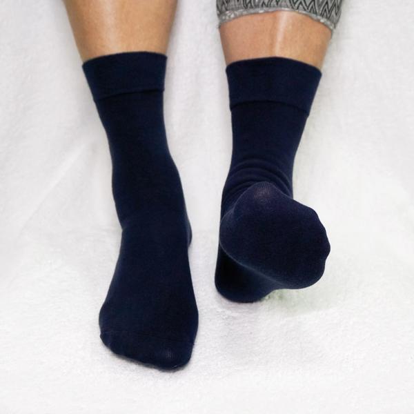 Pedisil Gel Diabetes Sok, comfort blauw