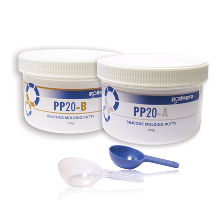 Podopro Silicone Molding Putty 2 x 250 gram