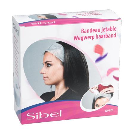 Sibel Wegwerp haarbanden 100 stuks