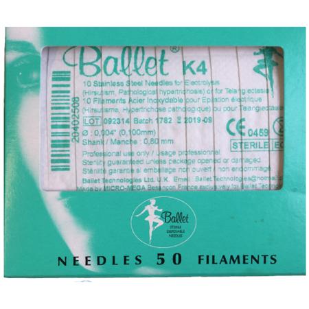 Balletnaalden K4 (50 stuks)