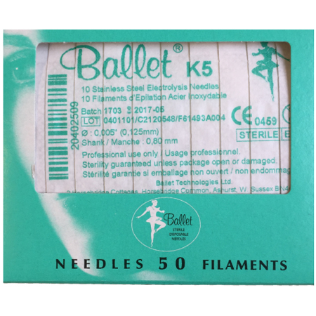 Balletnaalden K5 (50 stuks)