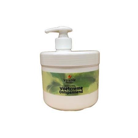Volatile Voetcreme ontspannend 500 ml (pomp)
