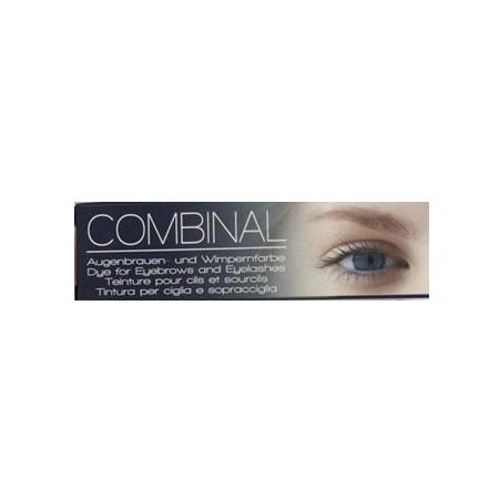 Combinal wimperverf blauw - zwart 15 ml