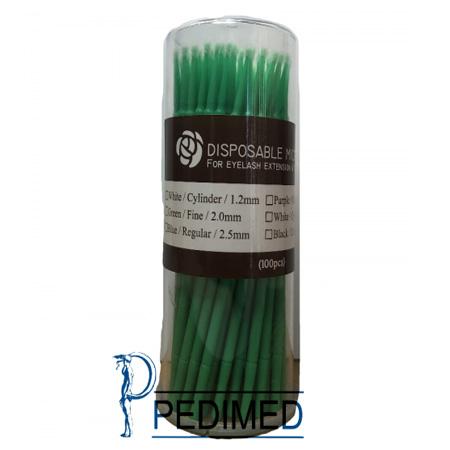 Neicha Disposable Micro Brush green 100 stuks