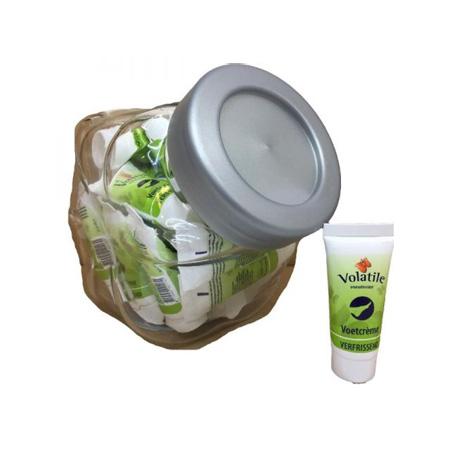 Volatile 25 mini's in pot Voetcreme verfrissend