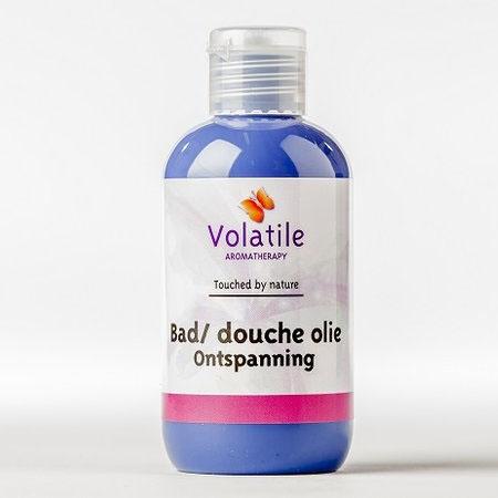 Volatile Bad douche olie ontspanning (lavendel) 100 ml