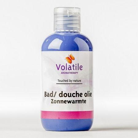 Volatile Bad douche olie zonnewarmte (mandarijn) 100 ml