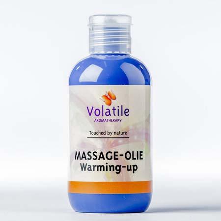 Volatile Massage-olie warming-up (met pepermunt) 100 ml