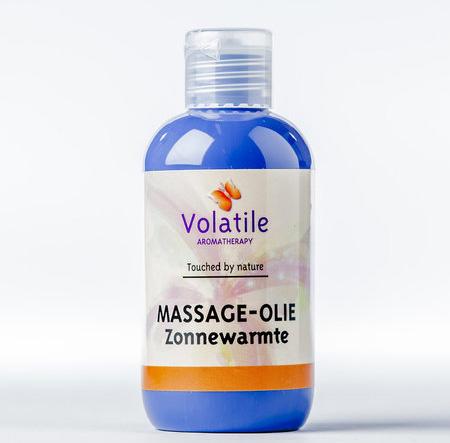 Volatile Massage-olie zonnewarmte (met mandarijn) 100 ml