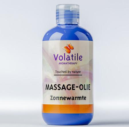 Volatile Massage-olie zonnewarmte (met mandarijn) 250 ml