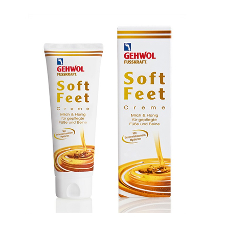 Gehwol Soft feet creme melk honing 125 ml