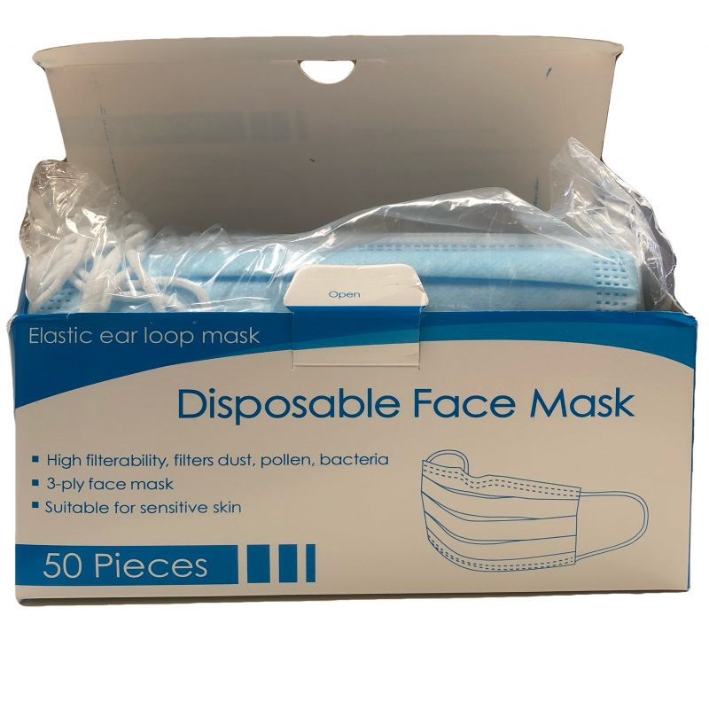 mondmaskers 50 stuks pedicure groothandel Pedimed, protocol, virus