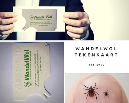 WandelWol tekenkaart