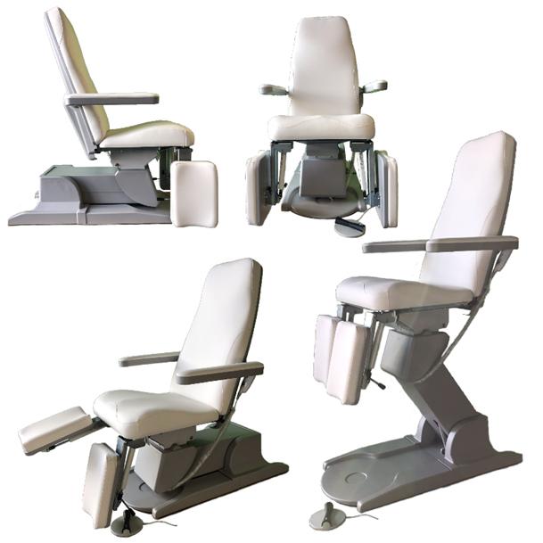 Pedicure behandelstoel WIT pedicure groothandel Pedimed, MartiniBeauty