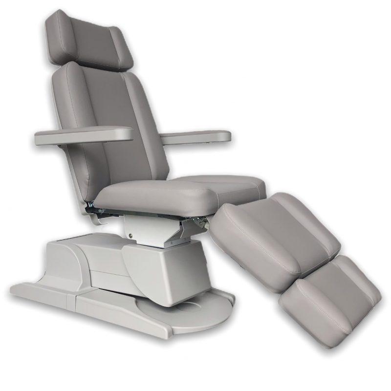 Beauty behandelstoel grijs groothandel Pedimed 2