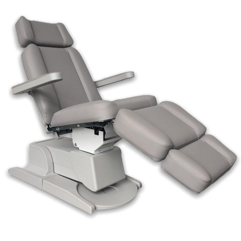 Beauty behandelstoel grijs groothandel Pedimed
