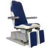 Blue White Podo treatmentchair Martini Beauty frontBVside