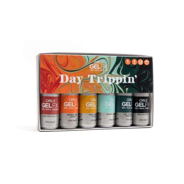 órly gel fx day trippin 6 x 9 ml lente 2021 pedimed pedicure groothandel