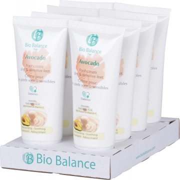 BB Footcream Avocado Display 8 x 75 ml_pedicure_groothandel_pedimed