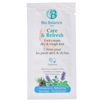 Bio Balance Voetcrème Care & Refresh 5 ml_pedicure_groothandel_Pedimed