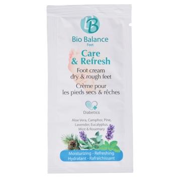 Bio Balance Voetcrème Care & Refresh 5 ml_pedicure_groothandel_Pedimed
