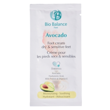 Bio Balance Voetcrème Avocado 5 ml_pedicure-groothandel_Pedimed