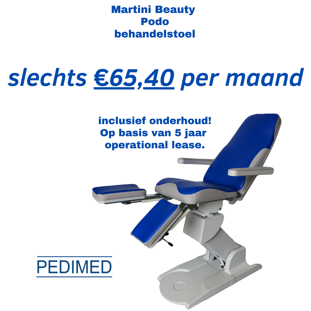 Lease_Pedimed_Martini_Beauty_Podo_behandelstoel_pedicure_groothandel